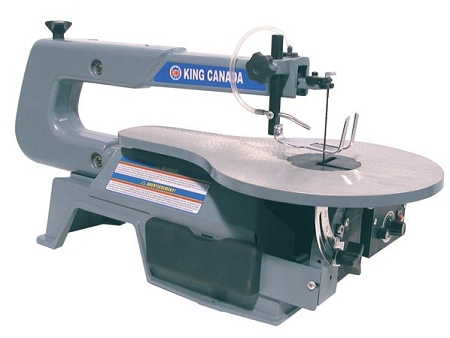 """King Canada KC-163SSC-V-6 16"""" Variable Speed Scroll Saw"""